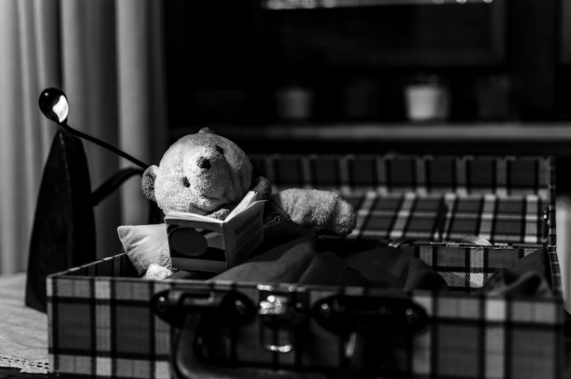 Un po' di lettura e poi si dorme ;-)