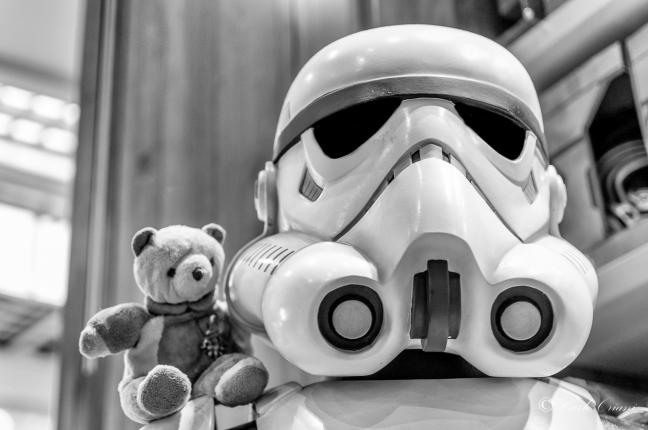 Teddy e lo Stormtrooper