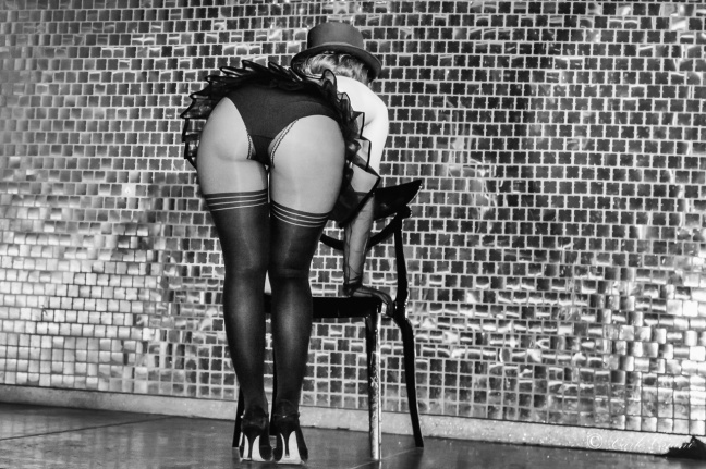 Burlesque chair dance